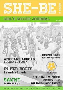 SHE-BE Girl's Soccer Journal