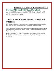 Survival MD PDF Free Download
