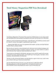 Total Money Magnetism PDF FREE Download