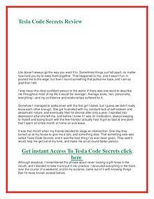 Tesla Code Secrets PDF Book Alex West Free Download