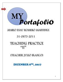 TEACHING PRACTICE II