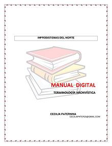 Manual digital y terminologia