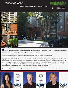 Active Listings - North Vancouver