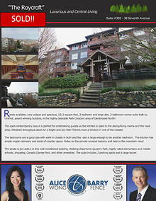 Sold Listings - New Westminster
