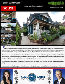 Sold Listings - North Vancouver