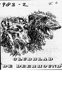 De Deerhound 1983 editie 1