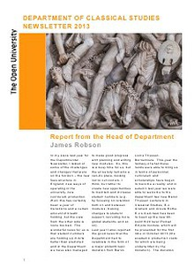 CS Department Newsletter