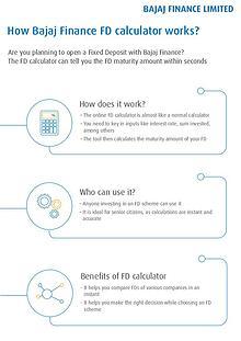 How to Know Bajaj Finance FD calculator works?