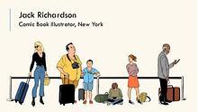 Jack Richardson - Comic Book Illustrator, New York