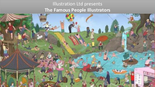 Famous People Illustrators From UK, USA & AUS Pepple Illustration