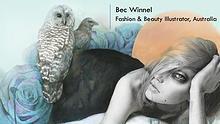 Bec Winnel - Fashion & Beauty Illustrator, Australia
