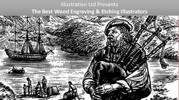 The Perfect Wood Engraving & Etching Style Illustrators Wood Engraving & Etching