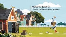 Nathaniel Eckstrom - Children's Book Illustrator, Australia