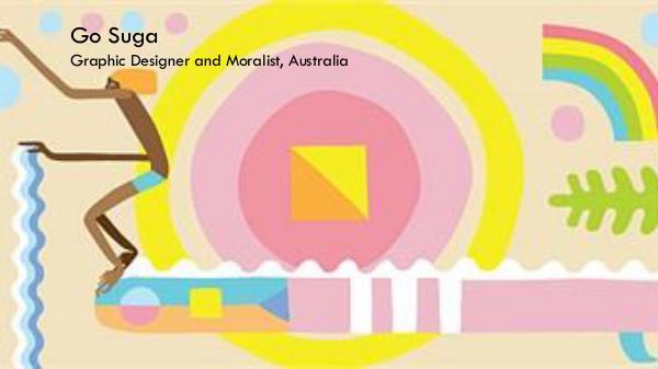 Go Suga - Graphic Designer & Muralist, Australia Go Suga