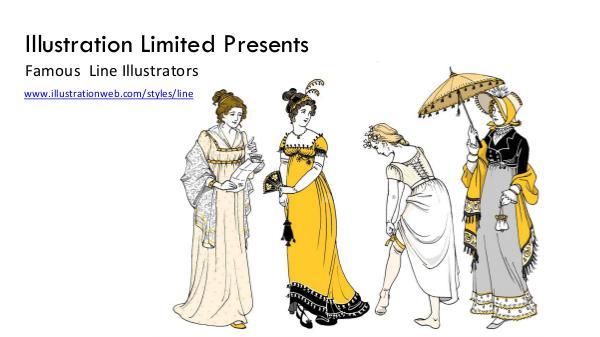 Famous Line Illustrators & Artists Line Illustration