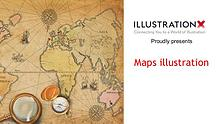 Maps illustration