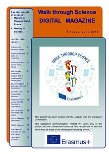 Digital Magazine Walk through Science