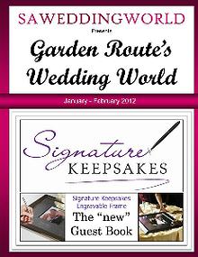Garden Route's Wedding World - Nov Dec 2012