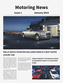 Motoring News Issue January 2014