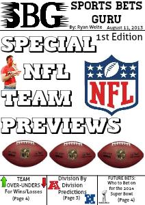 2013 NFL Season Team Preview