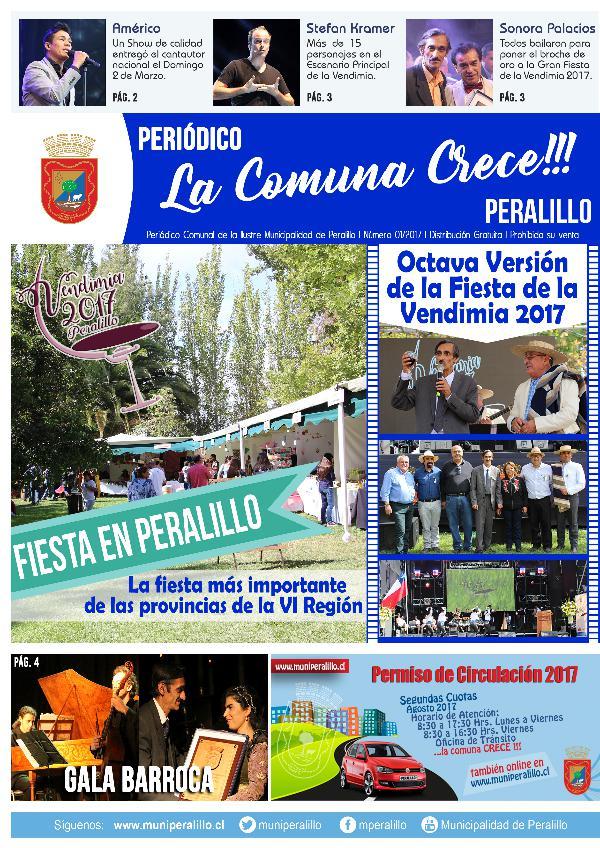Periodico La Comuna Crece 01-2017 Periodico La Comuna Crece 01-2017