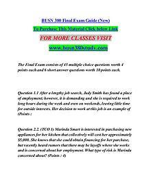 BUSN 380 study Great Stories/busn380study.com