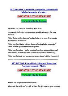 BIO 402 STUDY Keep Learning /bio402study.com