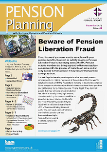 Pension Planning BUS FUND