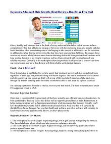 Rejuvalex Advanced Hair Growth- Read Reviews, Benefits & Free trail