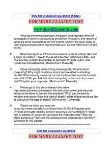 BSS 482 MENTOR Keep Learning /bss482mentor.com