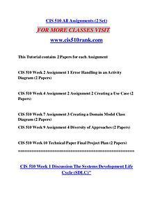 CIS 510 RANK  Great Stories/Cis510rank.com