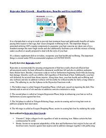 Rejuvalex Hair Growth  - Read Reviews, Benefits and Free trail Offer