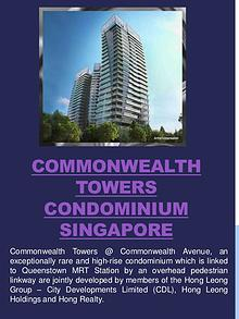 Commonwealth Towers Condo Singapore
