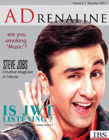 ADrenaline December 2012 Issue published by ADmire