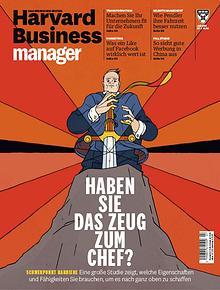 HARVARD BUSINESS MANAGER MAGAZINE