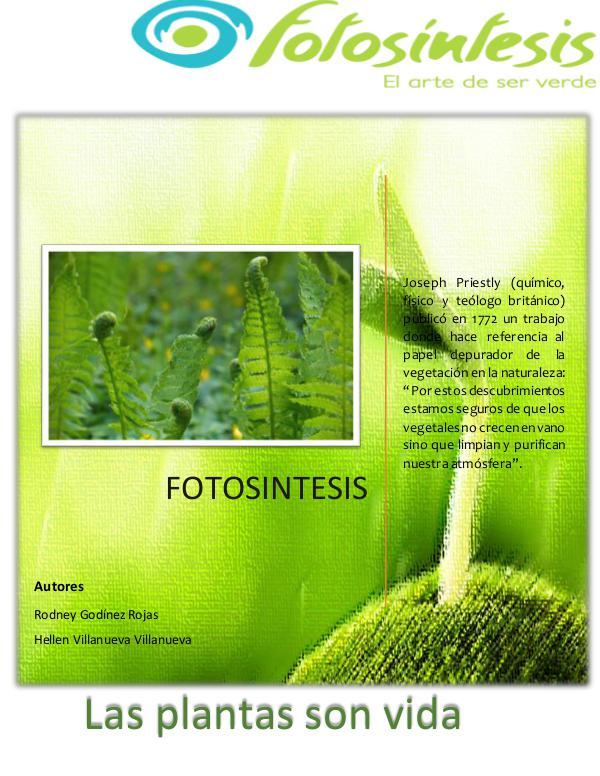 Fotosíntesis fotosintesis