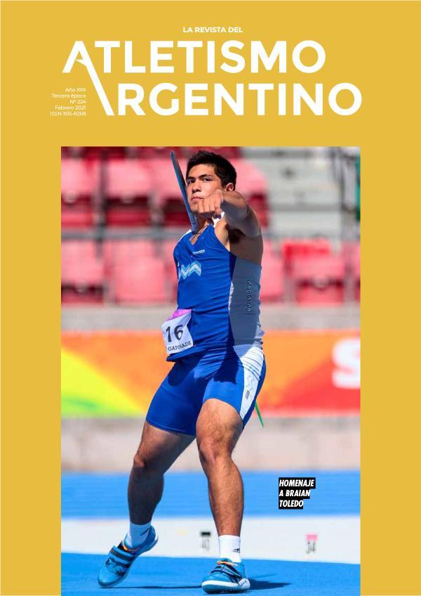 Atletismo Argentino Año XXX Número 224 - Febrero 2021