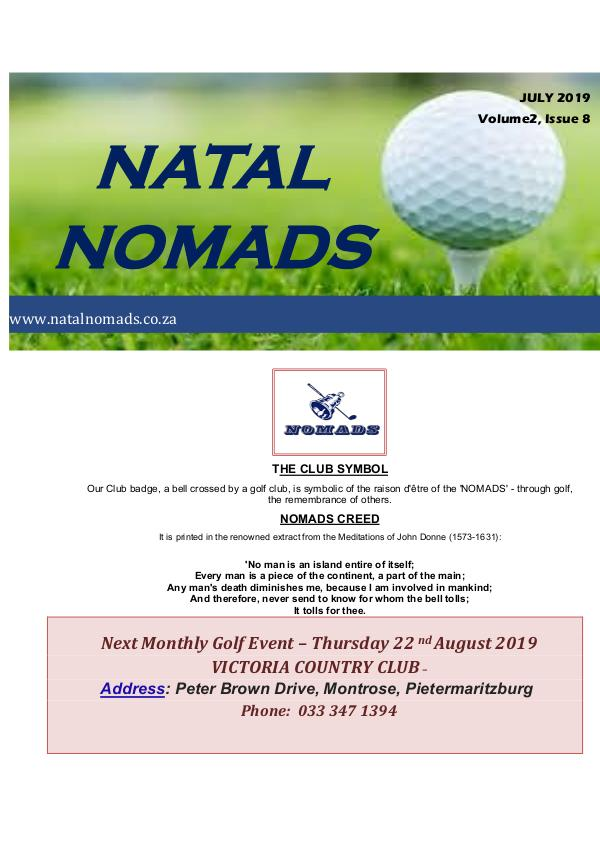 Newsletter Cotswold Downs Golf Club Volume 2 Issue