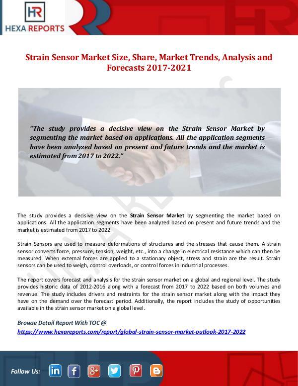 Strain Sensor Market