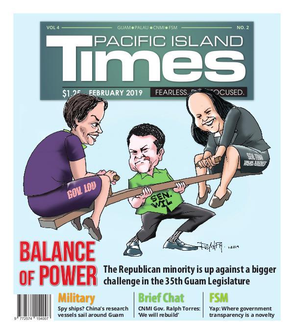 Pacific Island Times February 2019 Vol 3 No. 2