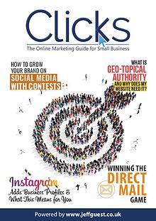 Clicks Internet Marketing Magazine for Small Business