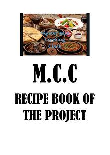 M.C.C JOINT PRODUCT-RECIPE E-BOOK