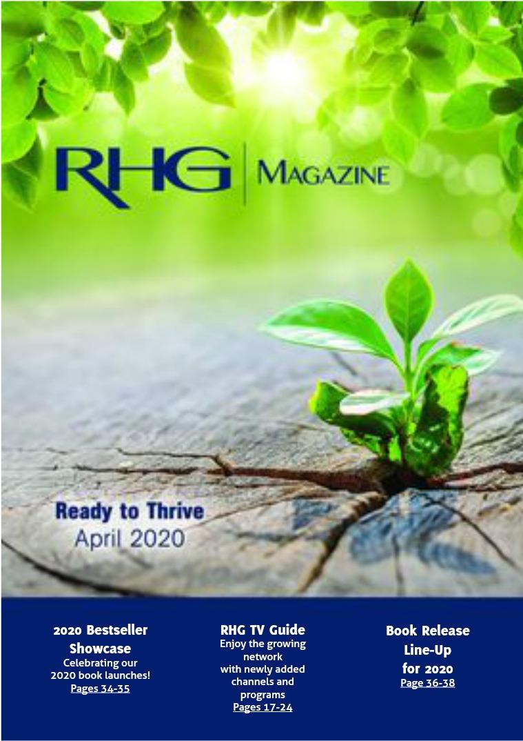RHG Magazine & TV Guide April 2020