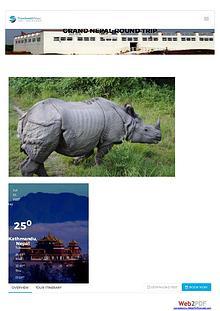 Nepal holiday tours