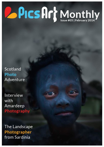 PicsArt Monthly February Issue 2014