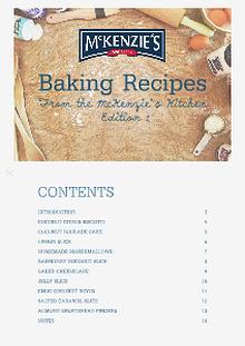 McKenzie's Baking eBook