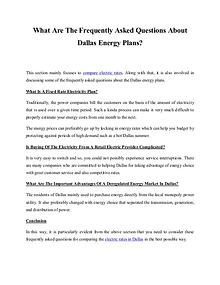How To Search For Cheap Electric Company Rates In Dallas?