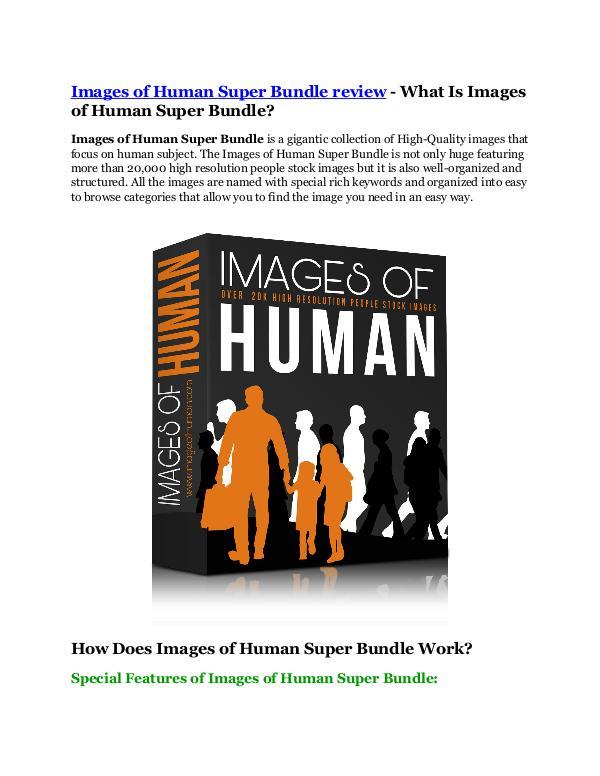Images of Human Super Bundle review - MEGA $22,400