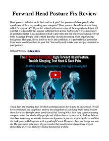 Forward Head Posture Fix PDF / Book Free Download