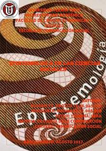 Epistemología en las ciencias sociales!